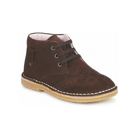 Cacharel HARRY girls's Children's Mid Boots in Brown