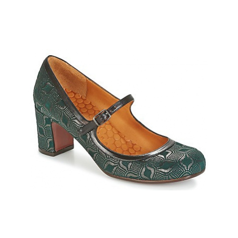 Chie Mihara HAPPO women's Court Shoes in Green
