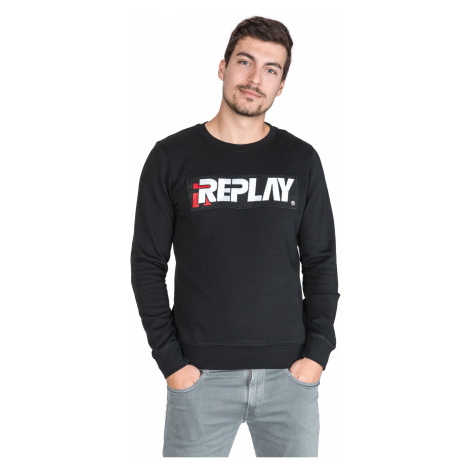 Replay Sweatshirt Black