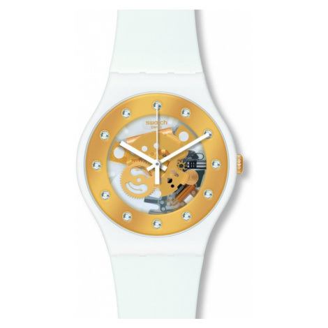 Unisex Swatch Sunray Glam Watch