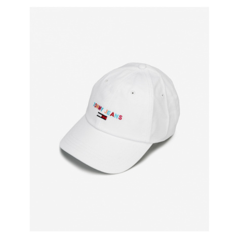 Tommy Jeans Cap White Tommy Hilfiger