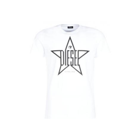 Diesel T DIEGO YH men's T shirt in White