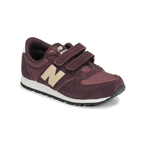 New Balance 420 girls's Children's Shoes (Trainers) in Bordeaux