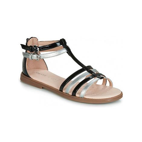 Geox J SANDAL KARLY GIRL girls's Children's Sandals in Black