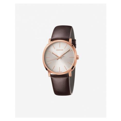 Calvin Klein Posh Watches Brown