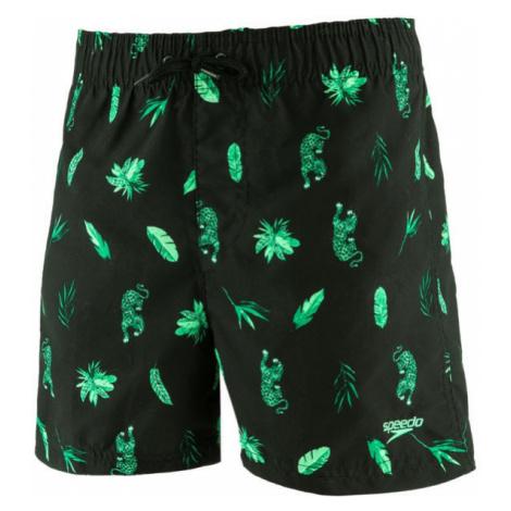Speedo JUNGLEROAR ALLOVER green - Boys' swimming shorts