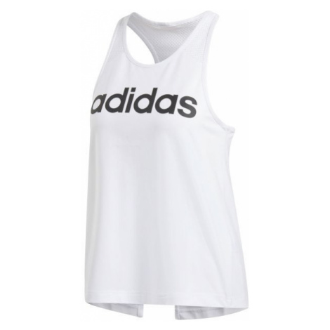 adidas D2M LO TANK white - Women's tank top