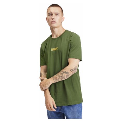 T-Shirt Puma Classics Logo N.2 - Garden Green - men´s