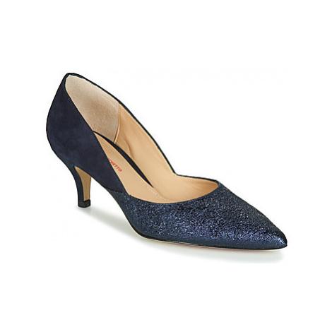 Perlato RIVERA women's Court Shoes in Blue