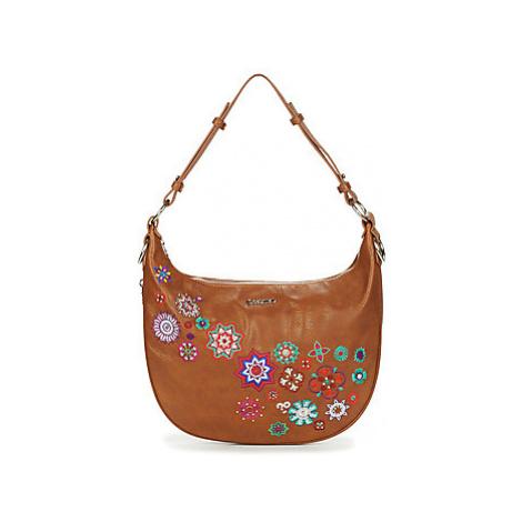 Desigual NANIT SIBERIA women's Shoulder Bag in Brown