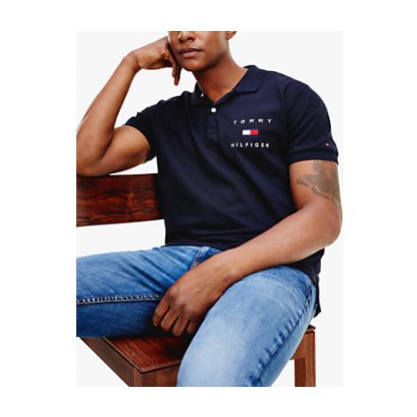 Tommy Hilfiger Logo Slim Fit Polo Shirt