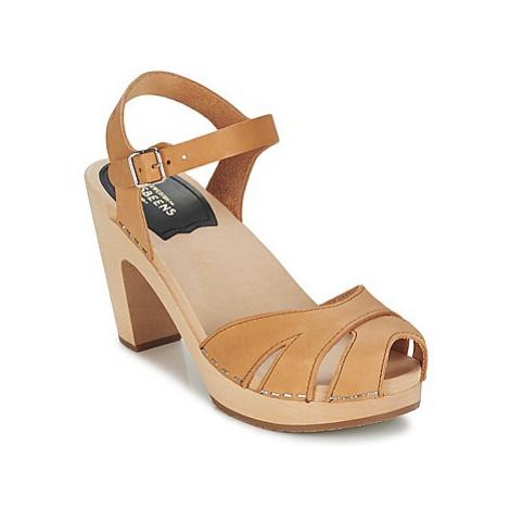 Swedish hasbeens SUZANNE women's Sandals in Beige