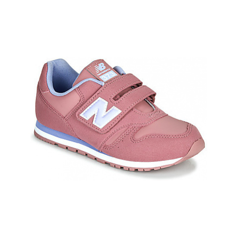 New Balance 373 girls's Children's Shoes (Trainers) in Pink