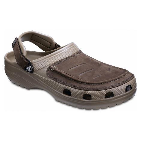shoes Crocs Yukon Vista Clog - Espresso/Khaki