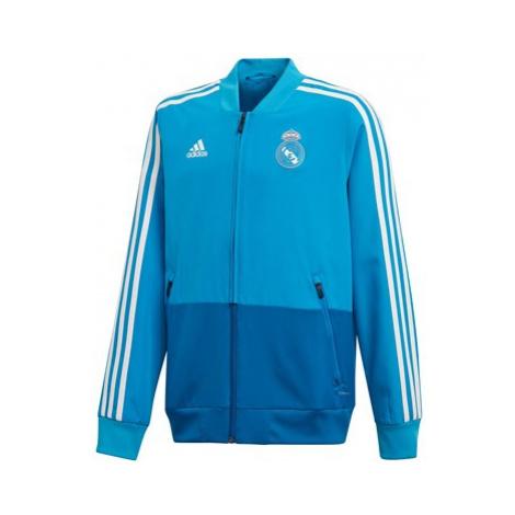 Real Madrid Training Presentation Jacket - Kids - Blue Adidas