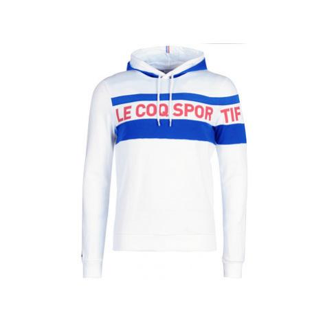 Le Coq Sportif ESS SAISON HOODY N°2 M men's Sweatshirt in White