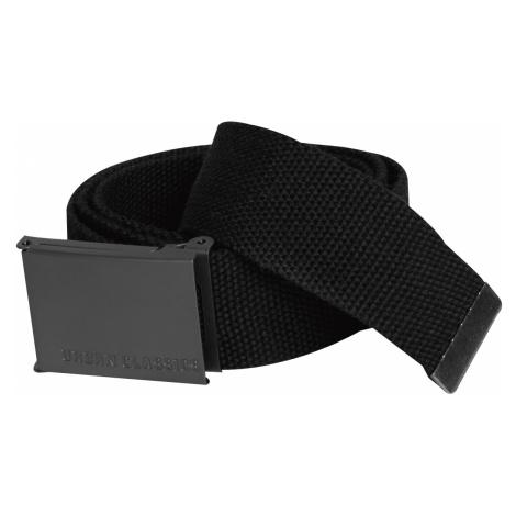 Urban Classics - Canvas Belt - Belts - black
