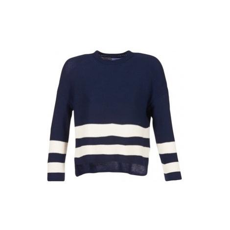 Loreak Mendian MARINA women's Sweater in Blue