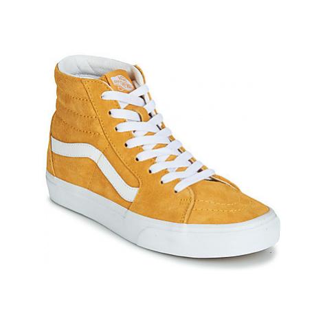 Vans SK8-HI men's Shoes (High-top Trainers) in Yellow