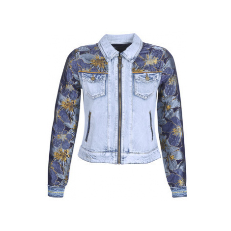 Desigual SUNSET women's Denim jacket in Blue