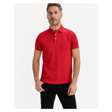 Tommy Hilfiger 1985 Polo T-shirt Red