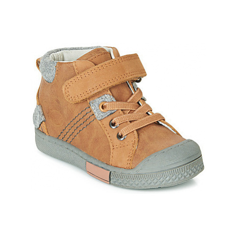 Mod'8 HERY boys's Children's Shoes (High-top Trainers) in Brown