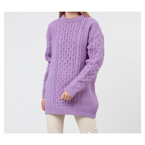 Han Kjøbenhavn Boyfriend Knit Sweatshirt Purple
