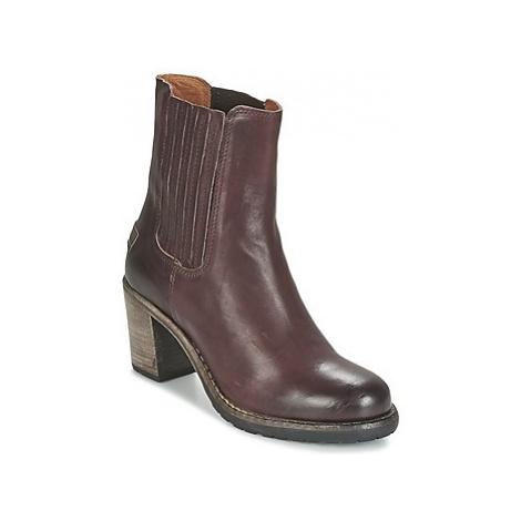 Shabbies ALGHERO TASSO women's Low Ankle Boots in Bordeaux