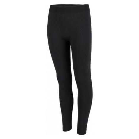 Lewro ZLATA black - Girls' insulated tights