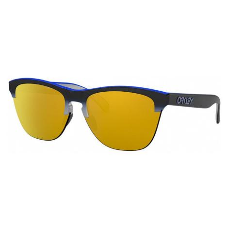 Oakley Man OO9374 Frogskins™ Lite - Frame color: Blue, Lens color: Orange, Size 63-10/138