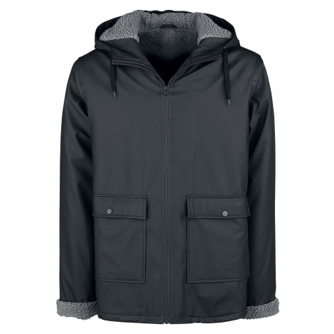 Forplay - Teddy Rain Jacket - Coat - black
