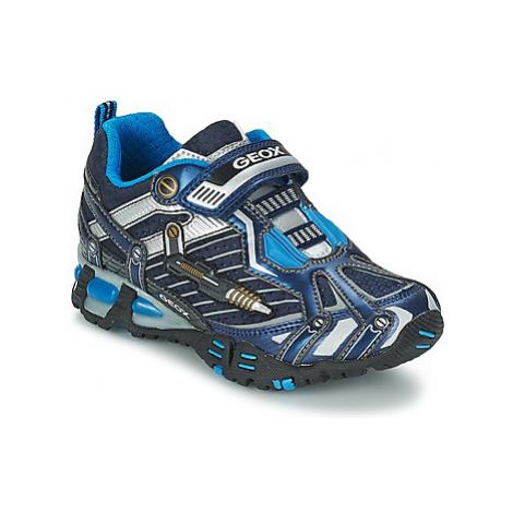Blue boys' sports shoes