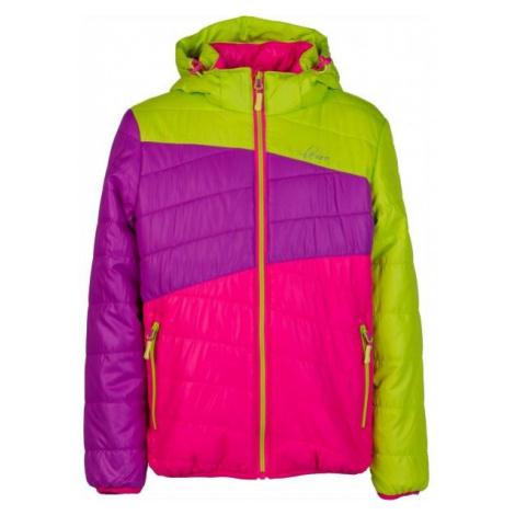Lewro KALYF pink - Kids' quilted jacket