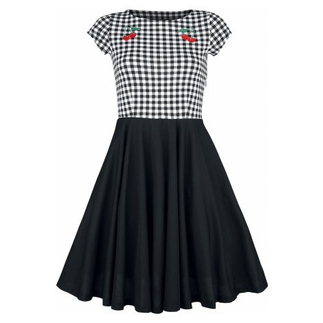 Pussy Deluxe - Plaid Petticoat Dress - Dress - black-white