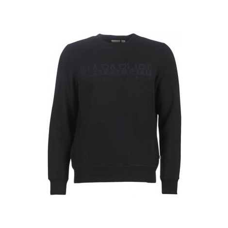 Napapijri BERBER men's Sweatshirt in Black