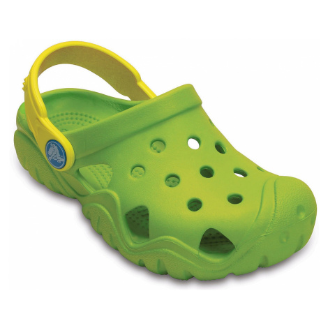 shoes Crocs Swiftwater Clog - Volt Green/Lemon