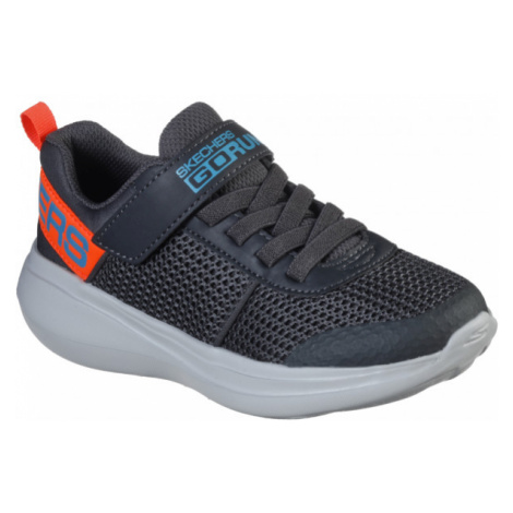 Skechers GO RUN FAST dark gray - Boys' sneakers
