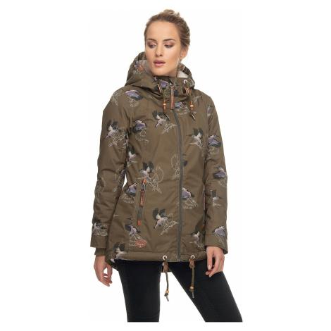jacket Ragwear Zuzka Glaid - 5031/Olive - women´s