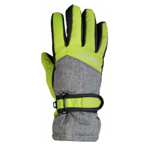 Lewro NALANI green - Kids' ski gloves
