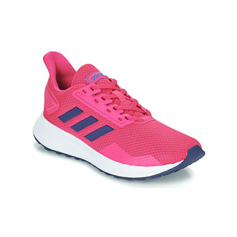Adidas DURAMO 9 K girls's Children's Shoes (Trainers) in Pink