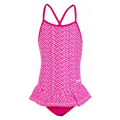 Axis GIRLS' SWIMSUIT pink - Girls' one-piece swimsuit