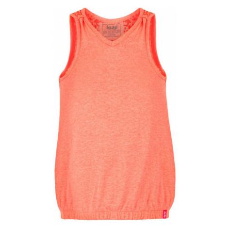 Loap BORKA orange - Girls' tank top