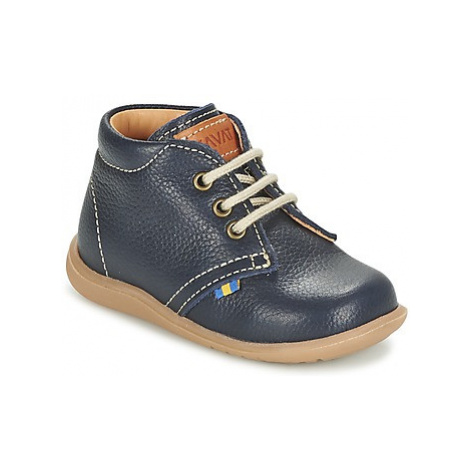 Kavat HAMMAR LACE boys's Children's Mid Boots in Blue