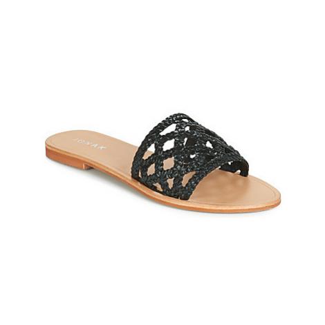 Jonak WEB women's Mules / Casual Shoes in Black
