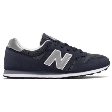 New Balance 373 Modern Classics Shoes - Navy/Silver
