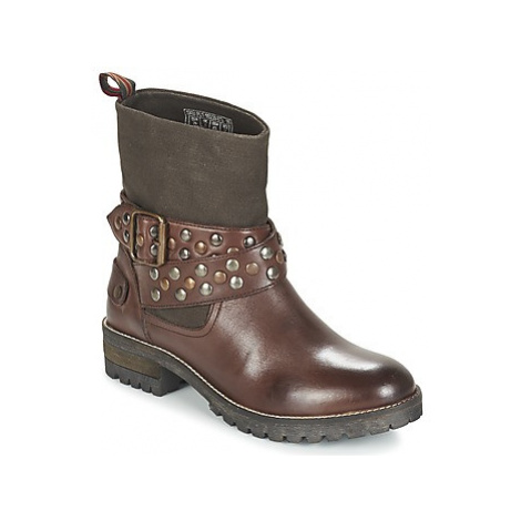 Pepe jeans HELEN women's Mid Boots in Brown