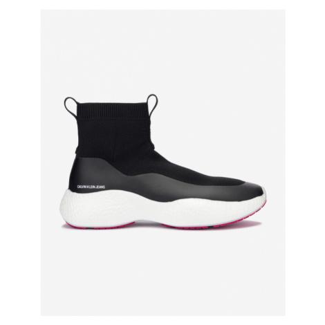 Calvin Klein Runner Sneaker Sock Sneakers Black