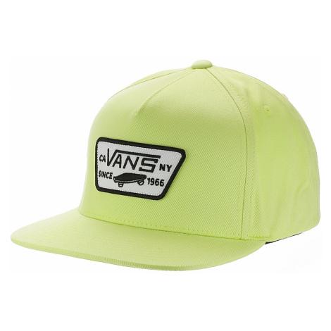 cap Vans Full Patch Snapback - Sharp Green - men´s