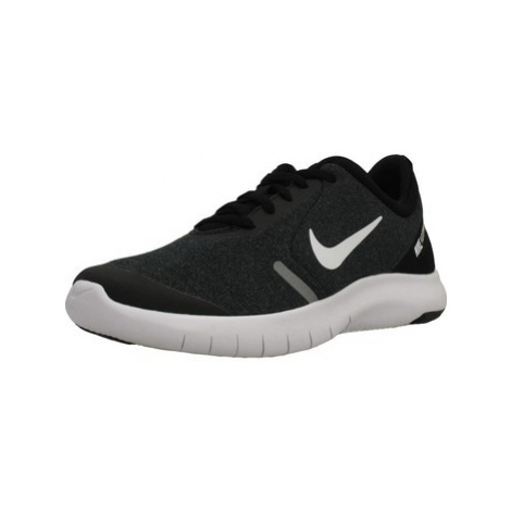 Nike FLEX EXPERIENCE RN 8 (G boys's Children's Shoes (Trainers) in Black