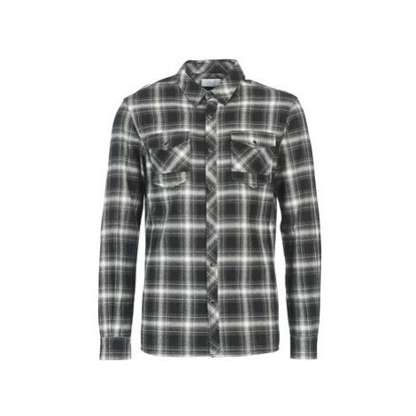 Eleven Paris ENEOUR men's Long sleeved Shirt in Black